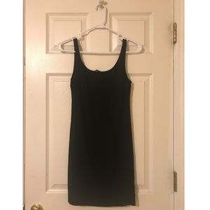 H and M Basics Black Tank Dress